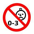 Simbolo 0-3 barrato