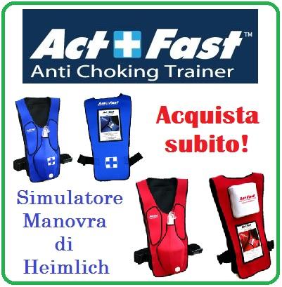 Simulatore per addestramento Manovra di Heimlich!