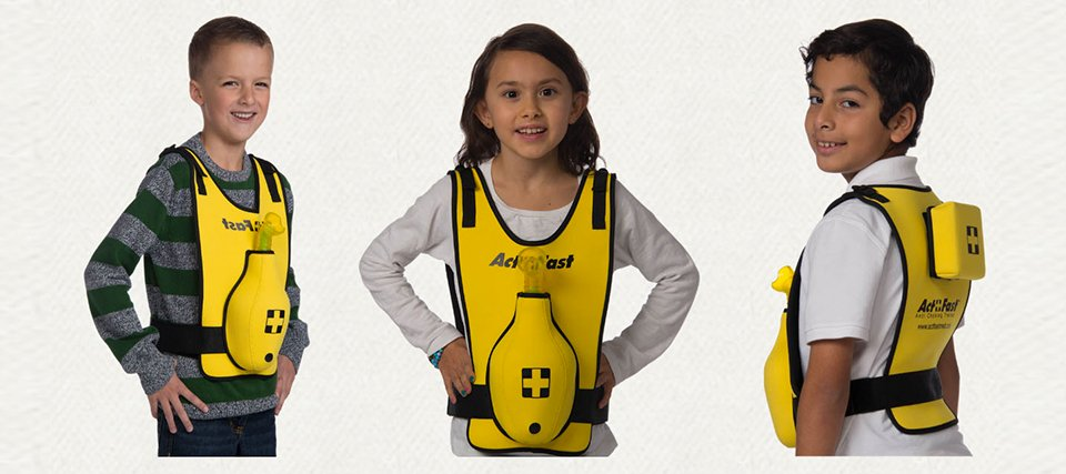 ACT+FAST ANTI-CHOKING TRAINER YELLOW - pediatrico