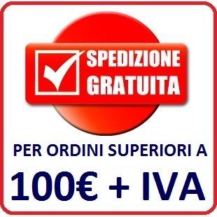 SPEDIZIONE GRATUITA CON SOLO 100 EURO D'ORDINE!
