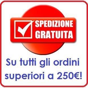 Spedizione gratuita a partire da 250€!