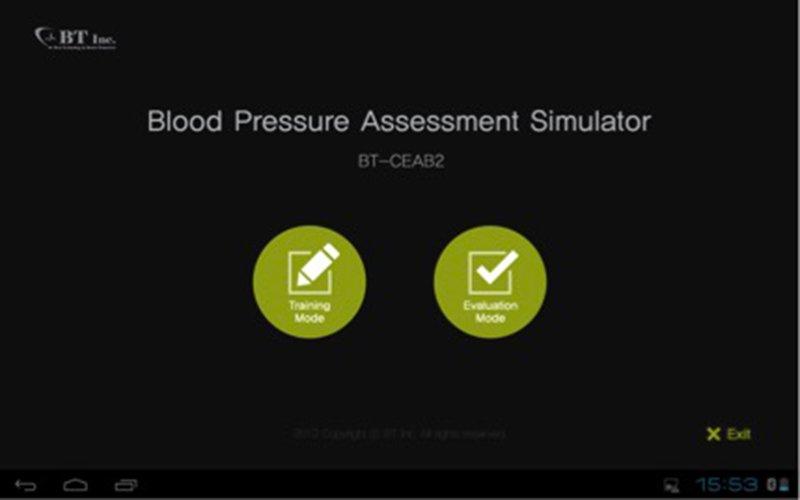 BT INC CEAB2 - Simulazione pressione arteriosa