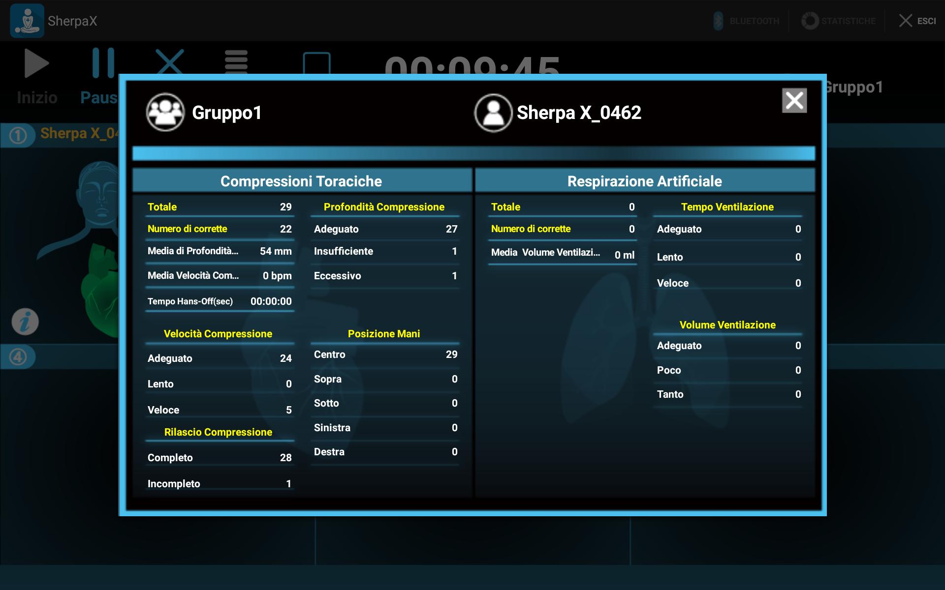 Valutazione App SherpaX