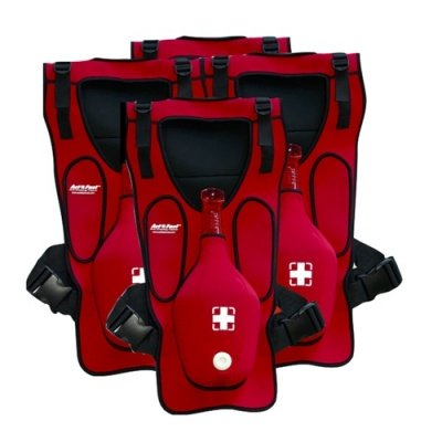 ACT+FAST INSTRUCTOR PACK RED – Set da 4 pezzi di ACT+FAST ANTI-CHOKING TRAINER RED